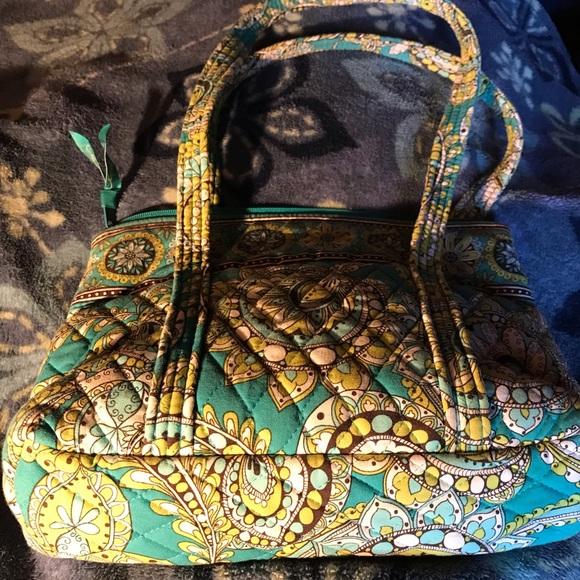 f0038161d25 Vera Bradley Bags   Peacock Daisy Dot Paisley By   Poshmark